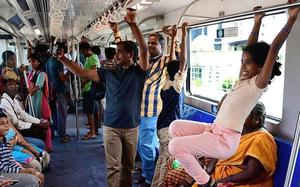 Would you rather take Chennai's MRTS or Metrorail?