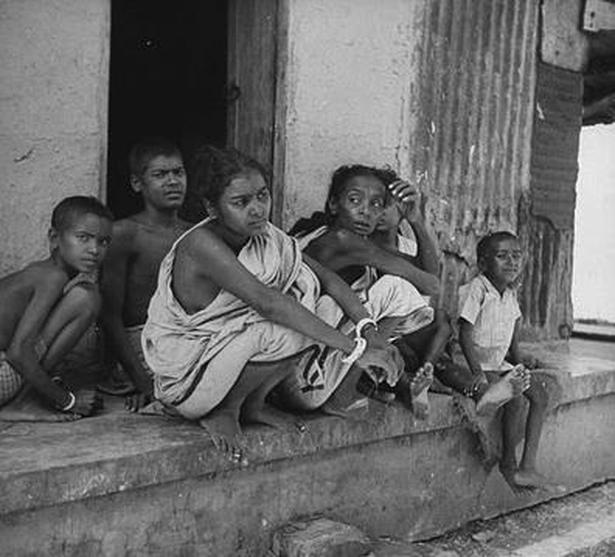 Desolation and despair writ large at the height of the Bengal famine in 1943