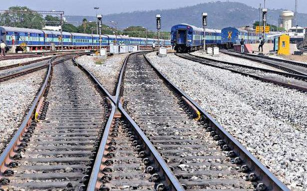 Govt May Open Railway Lines To Private Players The Hindu