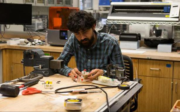 Manu Prakash Is Touching Billions Of Lives With Low Cost Science Tools The Hindu