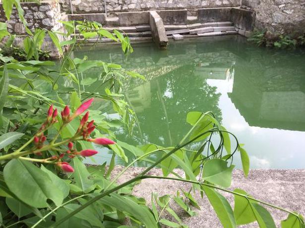 Kumizh Theertham pond