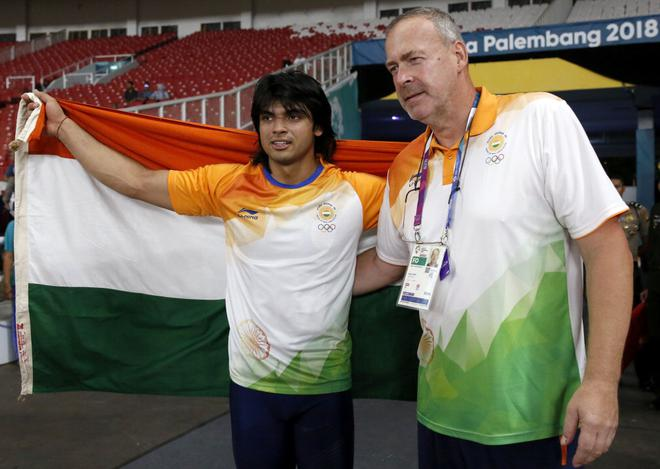 Asian Games: Neeraj Chopra becomes first Indian to win javelin throw gold
