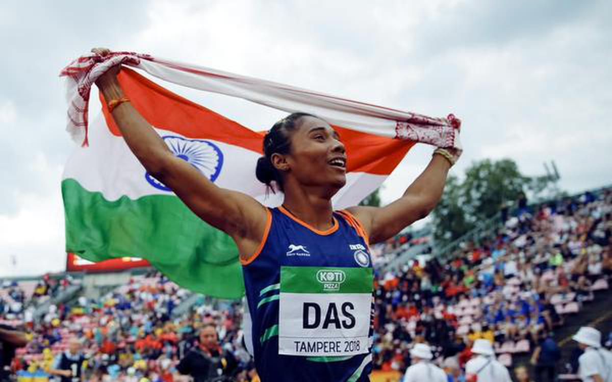 All you need to know about Hima Das - The Hindu