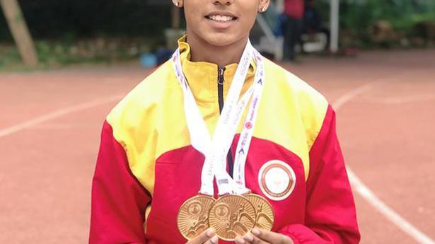 Exciting talent Priya Mohan's stunning new goal