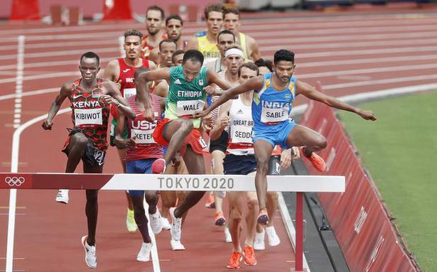 Tokyo Olympics | Sable betters his steeplechase National mark