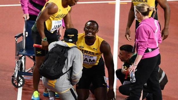 IAAF World championships: Injury floors Bolt, ruins final farewell