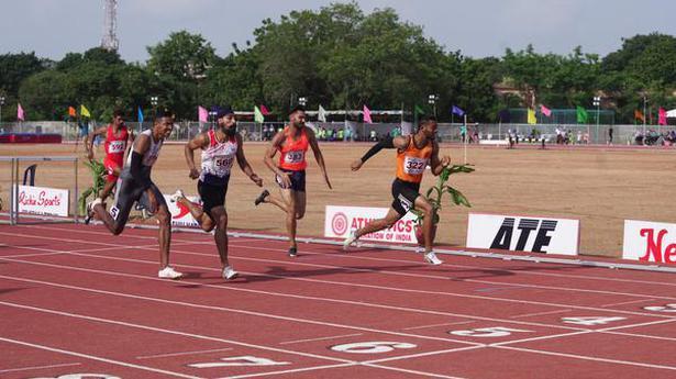 Aishwarya brushes aside bitter memories with long jump gold