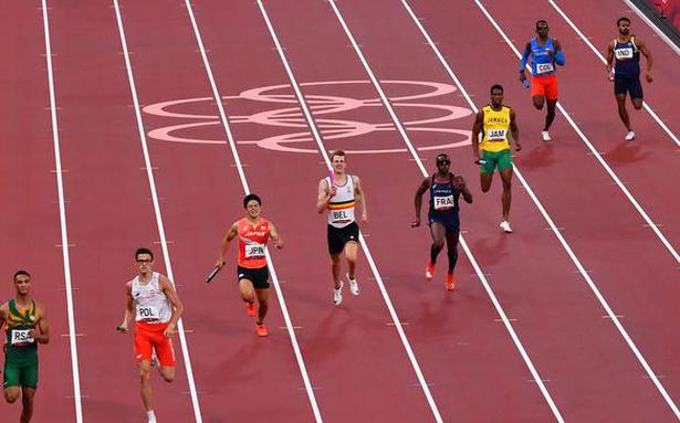 Tokyo Olympics   Indian 4x400m relay team breaks Asian record but fails to qualify for final
