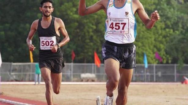 Parul and Abhishek play the waiting game before winning 5000m