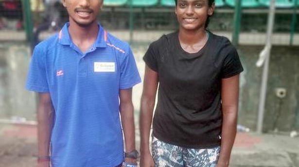 Tamil Nadu State senior athletics meet | Sathish and Kanimozhi hog the limelight