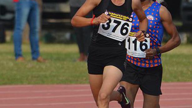 Athletics   Deeksha getting better and better