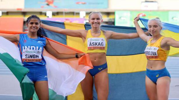 Long jumper Shaili Singh misses gold by 1cm, settles for silver in U-20 World Athletics Championships