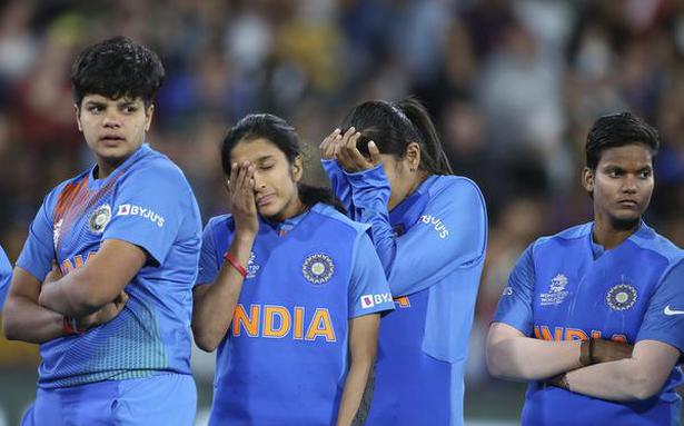 Indian women battle to stay in series