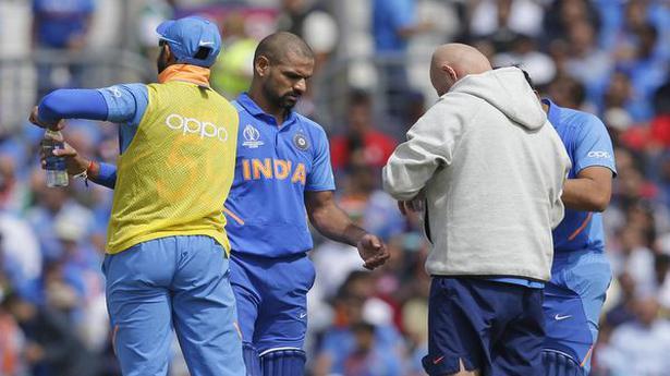 India sweats over Dhawan's fitness - The Hindu