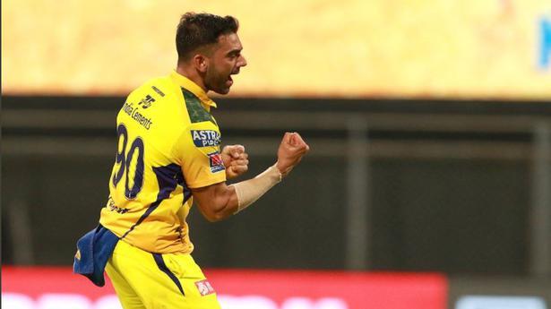 Indian Premier League 2021   Deepak Chahar has the ball talking in CSK's thumping win