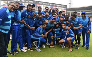 Karnataka claims its fourth Vijay Hazare Trophy