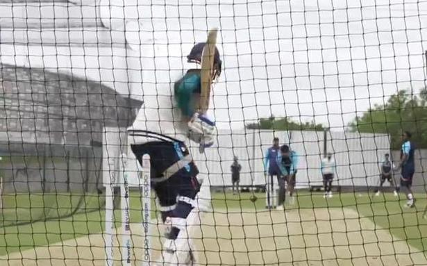 Indian team undergoes first group training session ahead of WTC final