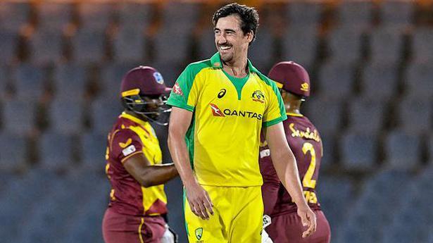 Starc takes five as Australia wins big