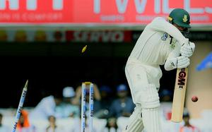 Indian pacers hasten South Africa towards exit