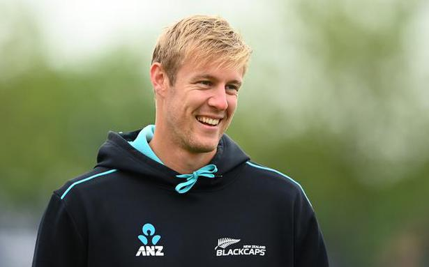 Jamieson hid in bathroom to escape tension of New Zealand's run chase in WTC final