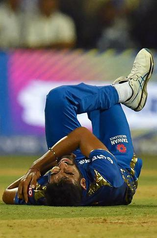 Bumrah... down and out?