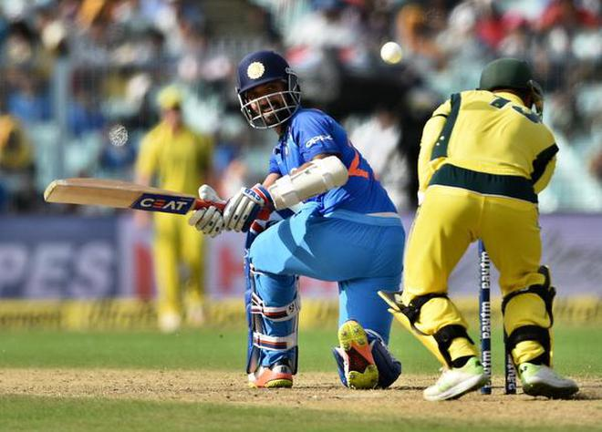 Image result for Don't want to think too much about my future: Ajinkya Rahane
