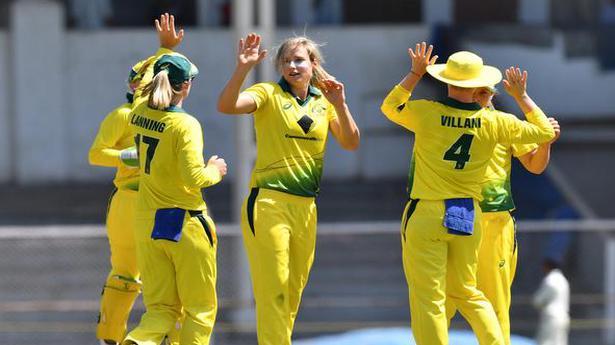 Australia Women Beat India By 6 Wkts In T20 Tri Series