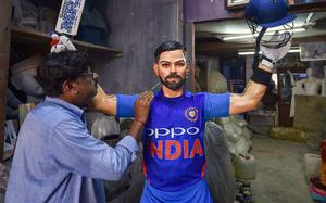 2019 Cricket World Cup: Virat Kohli's wax statue unveiled at Lords