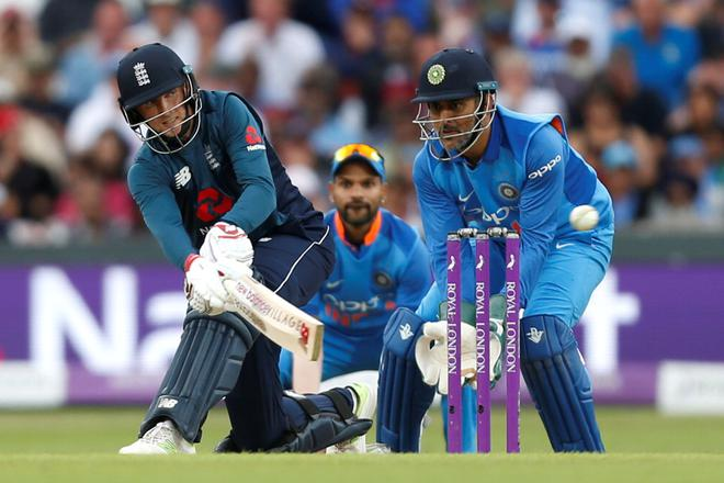 Image result for ms dhoni against england 2018 odi final