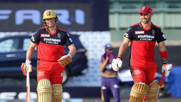 Indian Premier League 2021 | RCB vs KKR | De Villiers, Maxwell fire all-round RCB to 38-run win against KKR