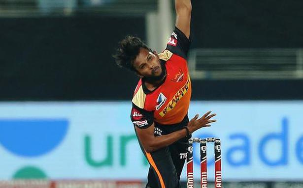IPL 2021 | Dhoni asked me to bowl slow bouncers, cutters and it's been useful: Natarajan