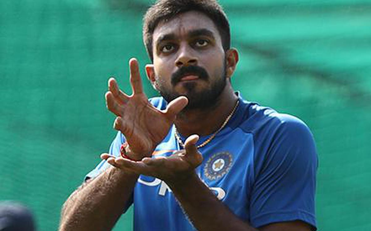 Dream come true for Vijay Shankar - The Hindu