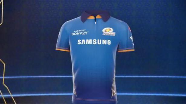 Indian Premier League 2021 | Mumbai Indians unveil new jersey