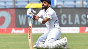 Kohli surpasses Tendulkar, Sehwag for record double hundreds