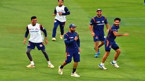 Mumbai Indians gearing up for the big game