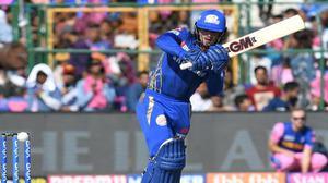 IPL 2019: Quinton de Kock half-century propels Mumbai Indians