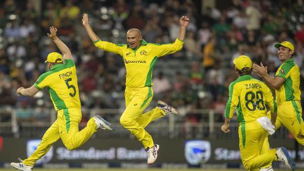 SA vs Aus | Agar hat-trick helps Australia thrash South Africa by 107 runs in 1st T20