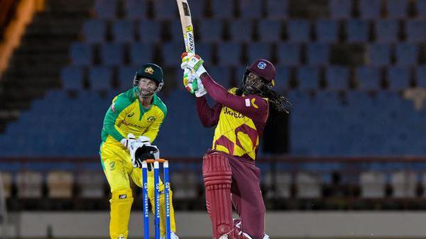 Gayle's 67 helps Windies secure T20 series against Australia