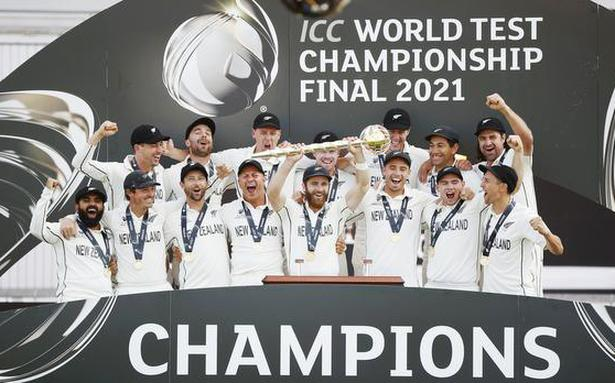 ICC congratulates New Zealand for clinching World Test Championship title