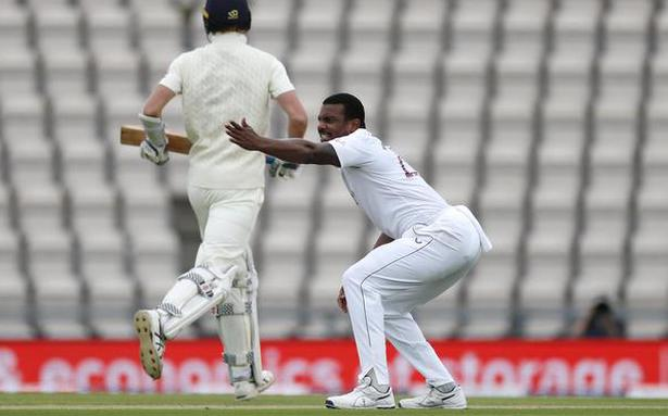 ICC Test Championship | West Indies reduces England to 106-5 at lunch on Day 2