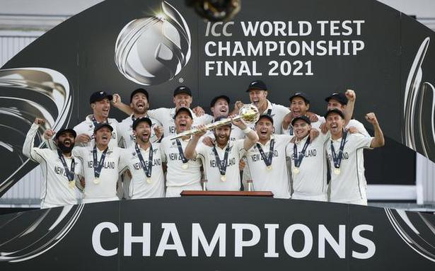 New Zealand's 'Black Caps' to stage WTC trophy tour