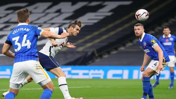 Gareth Bale heads winner as Tottenham Hotspur go second with win over Brighton