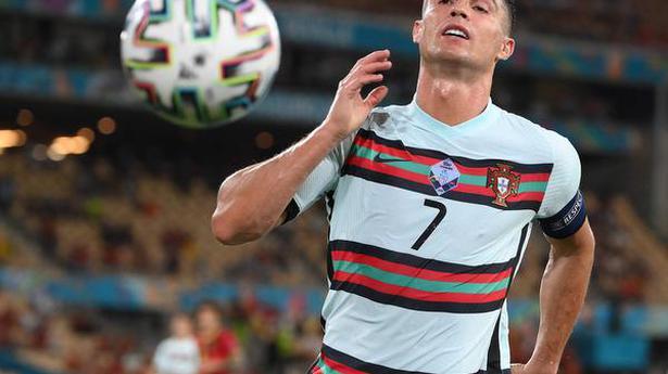 Ronaldo finishes as top scorer at Euro 2020