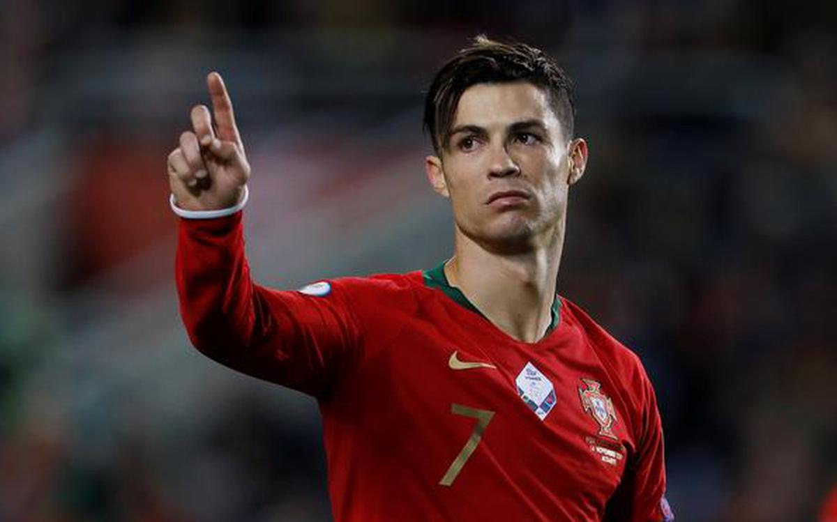 Cristiano Ronaldo bags hat-trick, closes on 100 goals in Portugal rout -  The Hindu