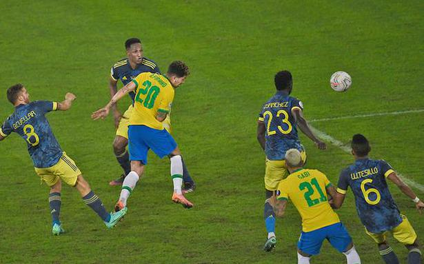 Brazil edges Colombia amidst controversy