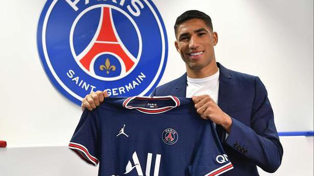 Paris Saint-Germain signs Morocco right-back Achraf Hakimi