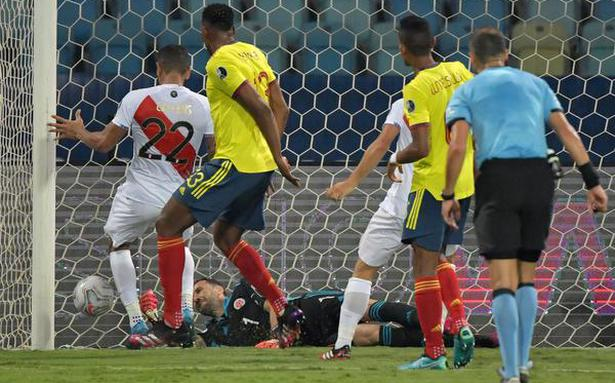 Mina own goal sinks Colombia
