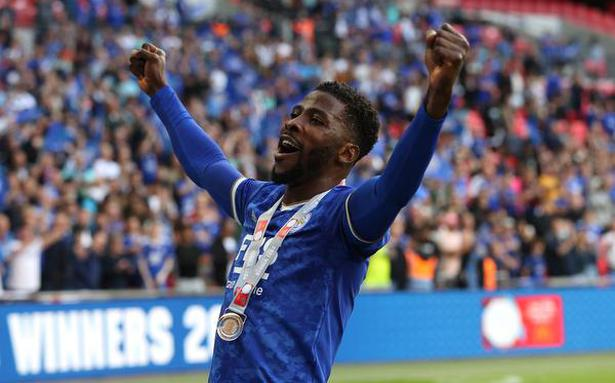 Leicester tops Man City 1-0 at Wembley in Grealish debut