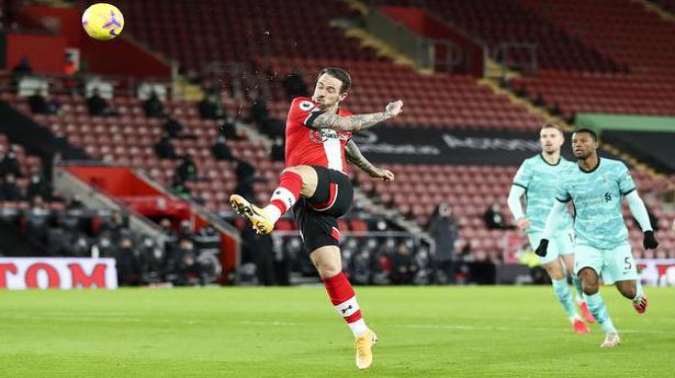 Premier League   Ings' super strike sinks Liverpool