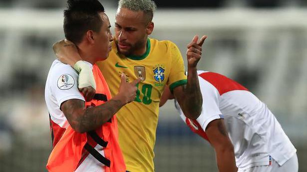 Brazil beats Peru 1-0 to advance to Copa America final